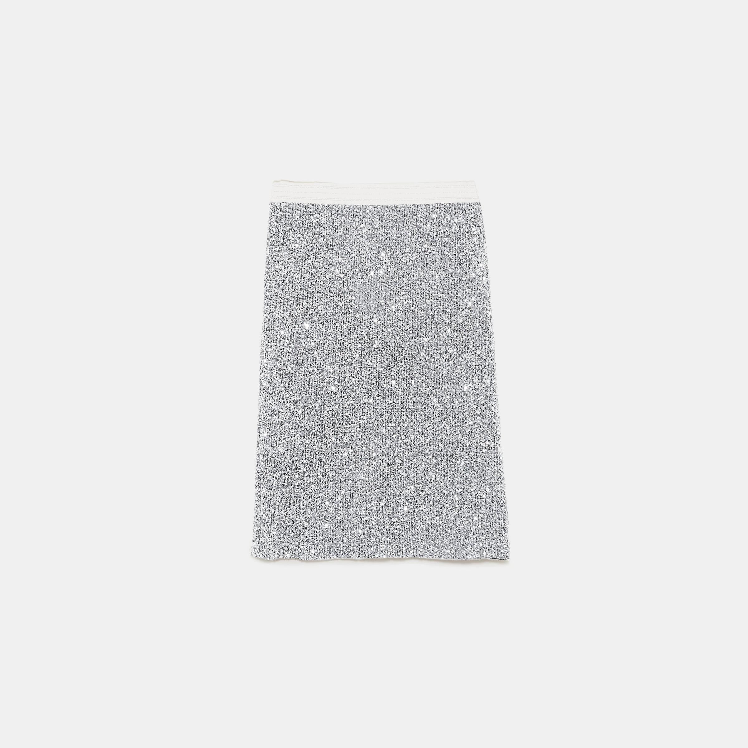 01ee1da0c358db Jupe tube à paillettes Zara - La Grande Mode