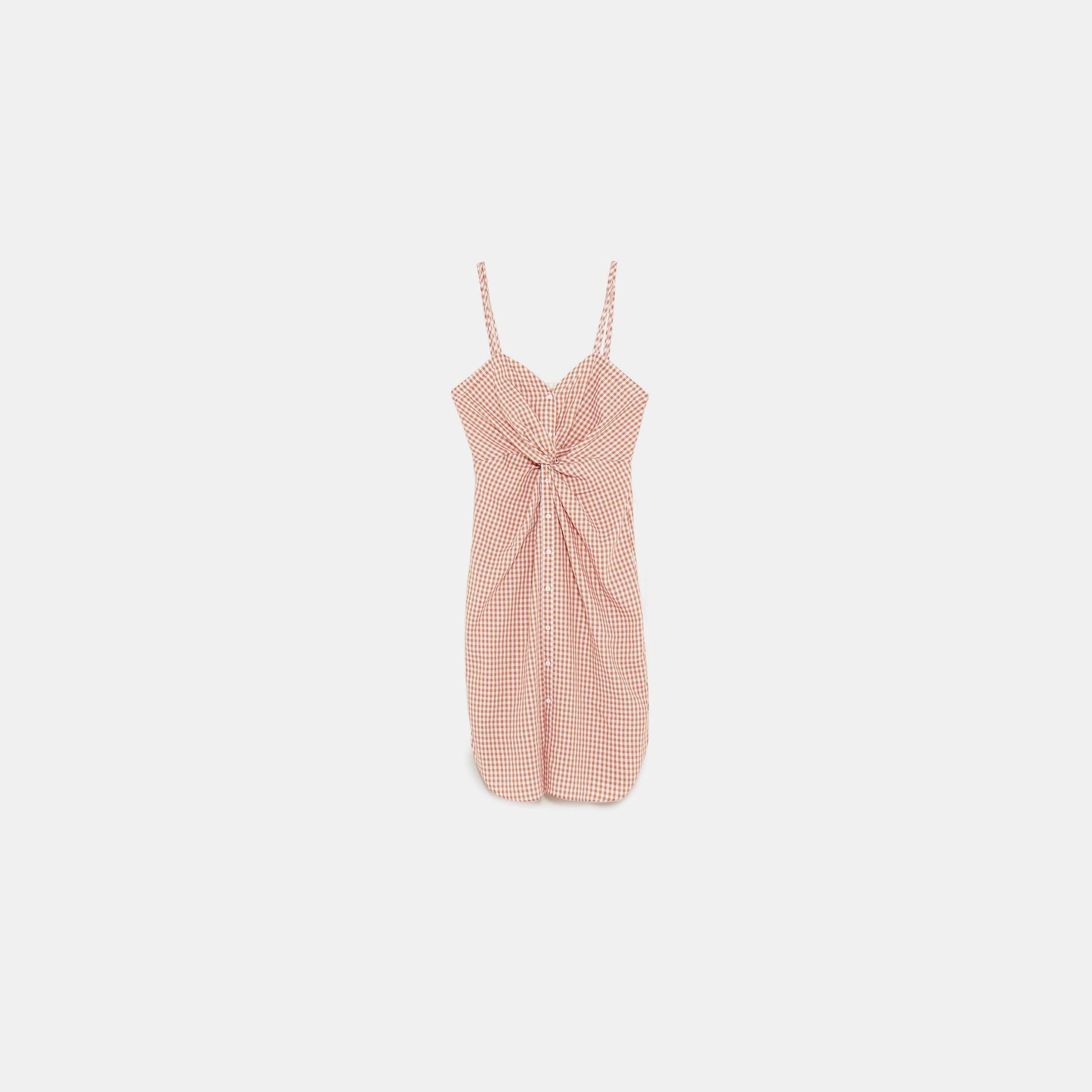 Robe Vichy Zara La Grande Mode