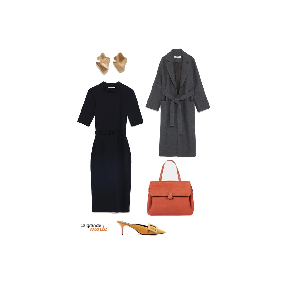 La Grande Mode - Idée look avec une robe noire - Tendance Mode Printemps Eté 2019