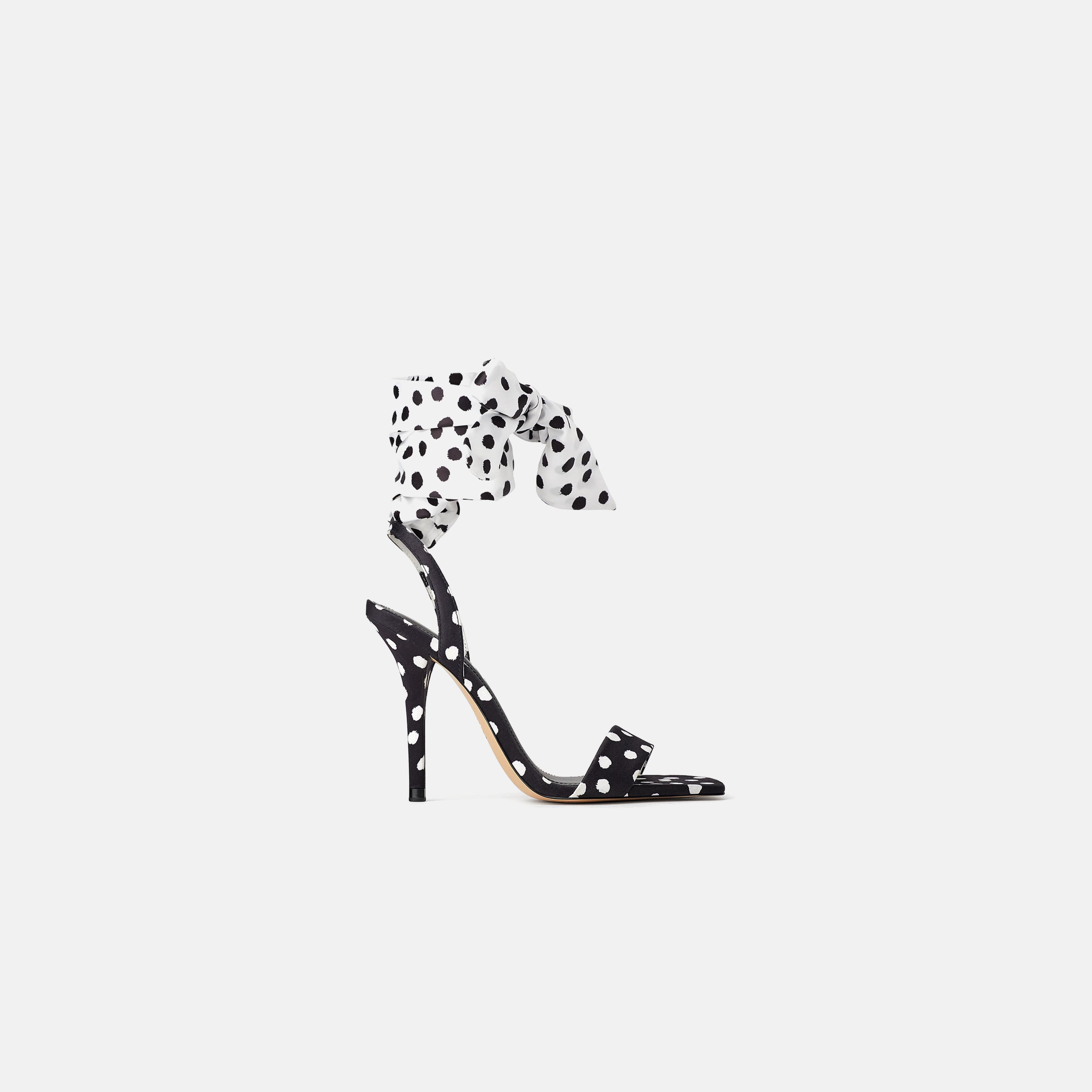 Sandales Mode À Pois La Zara Grande mwN8nv0O